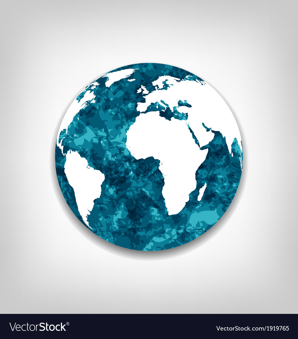 Save the earth from global warming vector | Price: 1 Credit (USD $1)