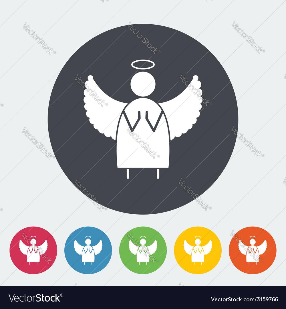 Angel icon vector | Price: 1 Credit (USD $1)