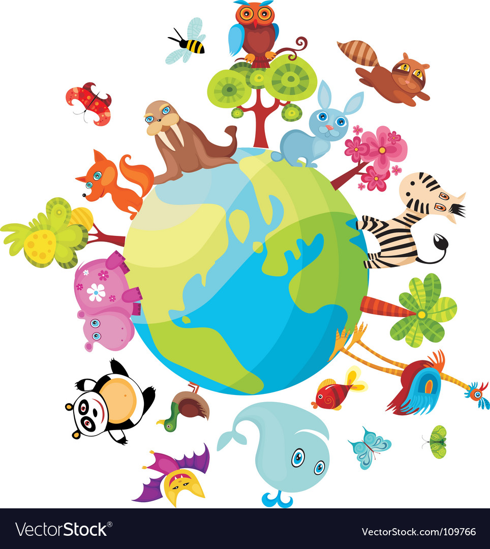 Animal planet vector | Price: 1 Credit (USD $1)