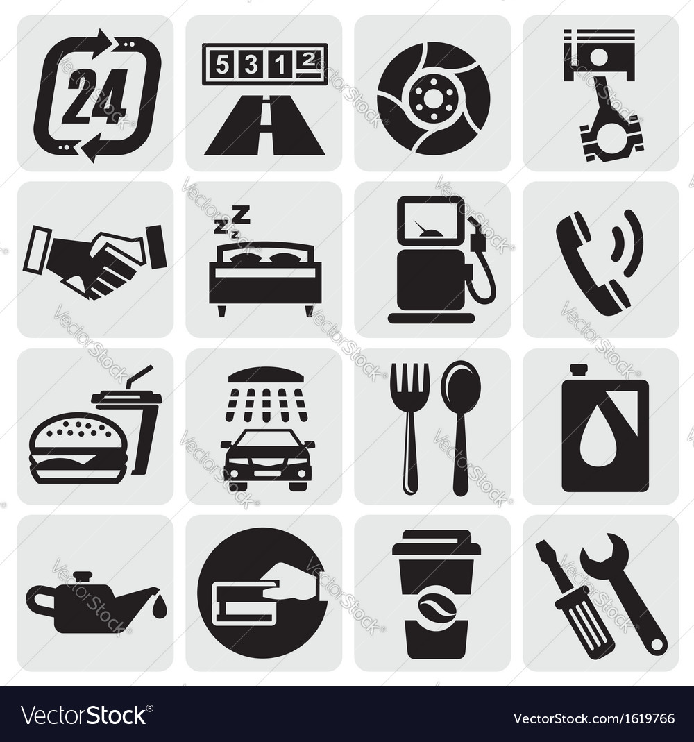 Auto car icons vector | Price: 1 Credit (USD $1)