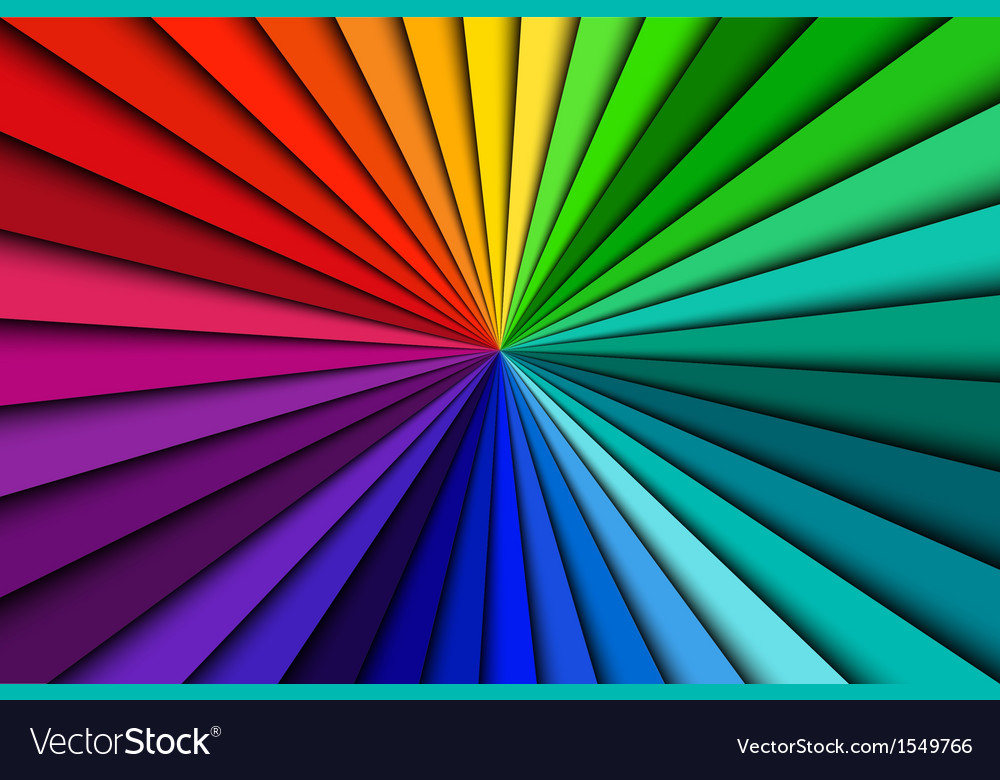 Background spectrum lines vector | Price: 1 Credit (USD $1)