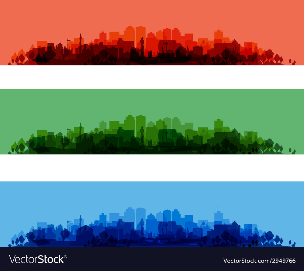 Cityscape overprint vector | Price: 1 Credit (USD $1)