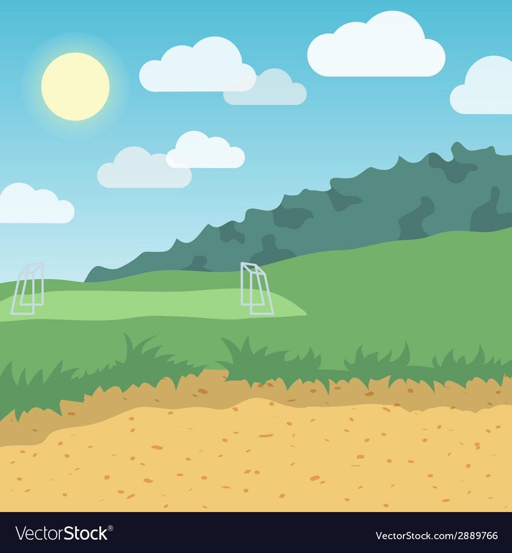 Outdoor location background vector | Price: 1 Credit (USD $1)