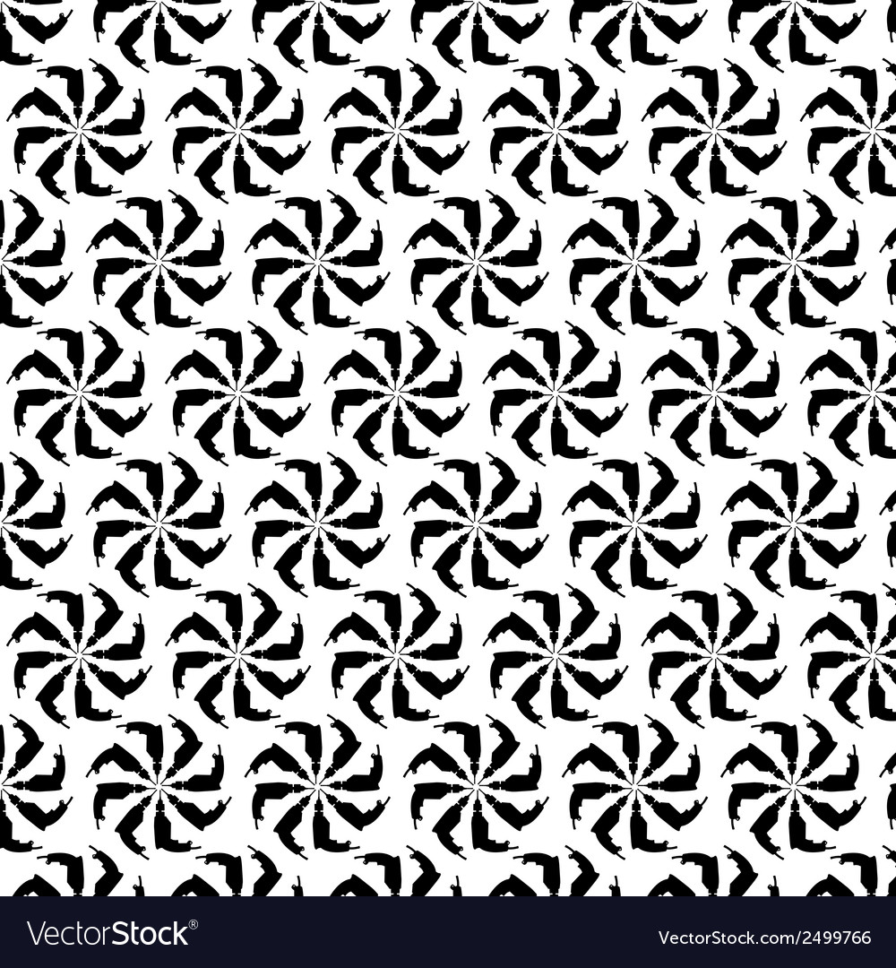 Seamless pattern background of drill vector | Price: 1 Credit (USD $1)