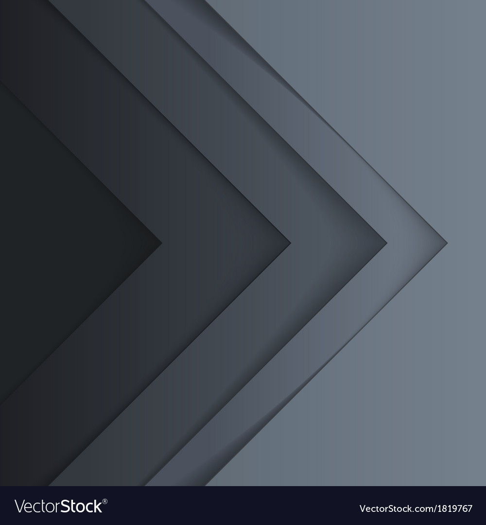 Abstract grey triangle shapes background vector | Price: 1 Credit (USD $1)