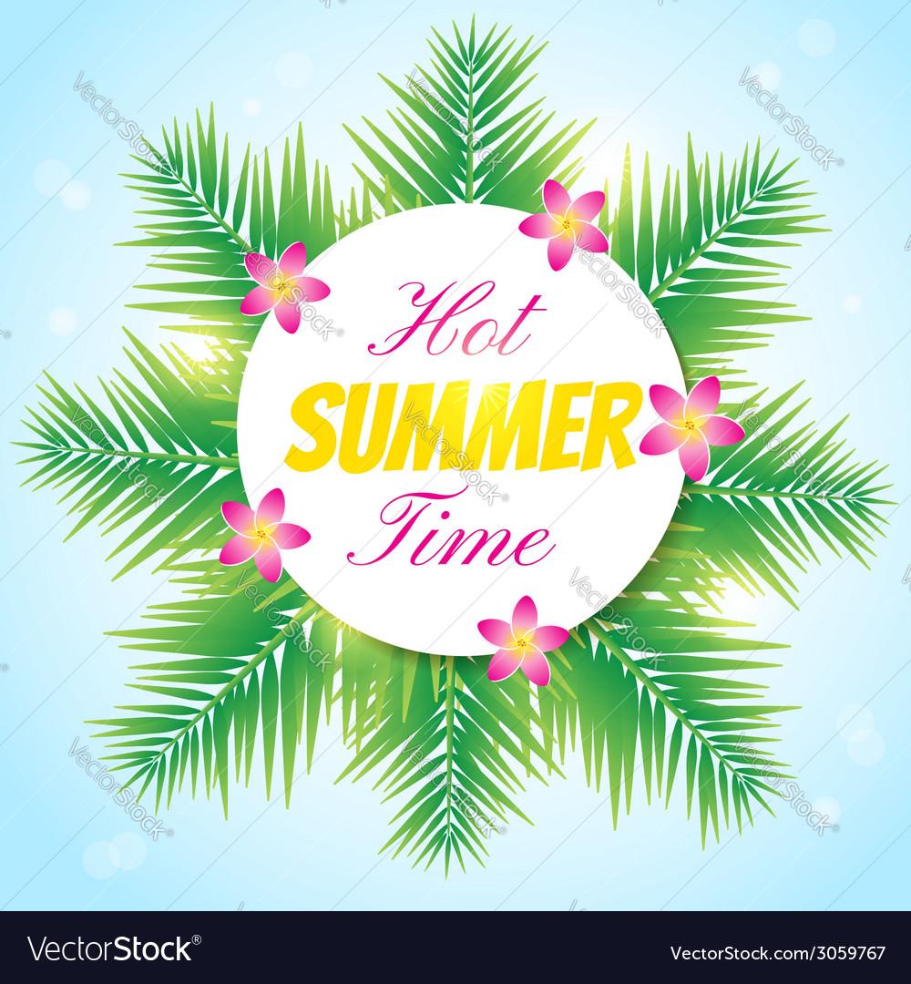 Hot summer1 vector | Price: 1 Credit (USD $1)