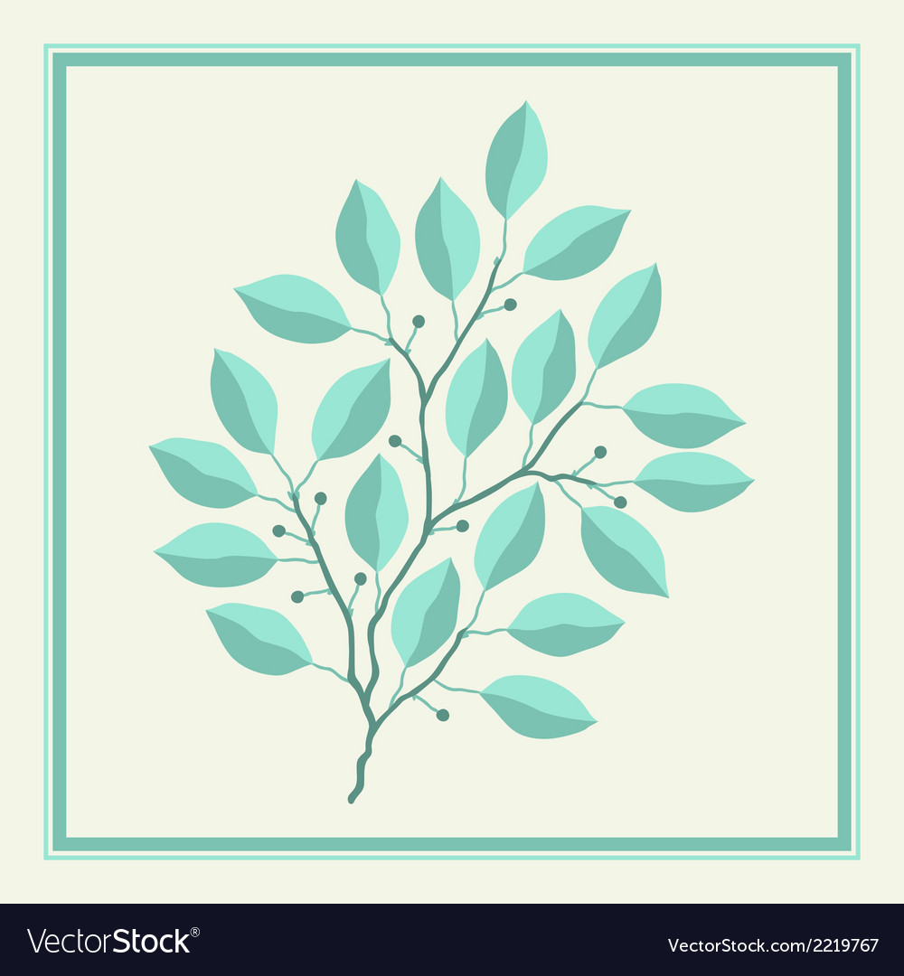 Natural abstract background with branches of vector | Price: 1 Credit (USD $1)