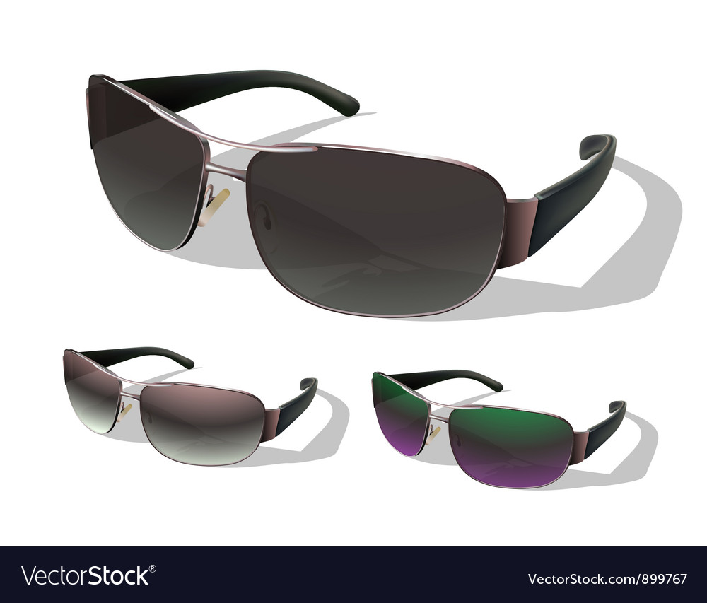 Set sunglasses vector | Price: 3 Credit (USD $3)