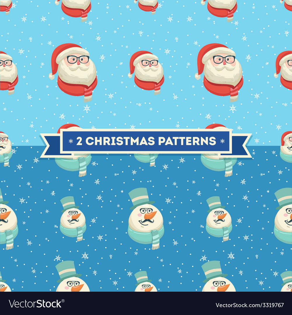 Signs of christmas christmas vintage background vector | Price: 1 Credit (USD $1)