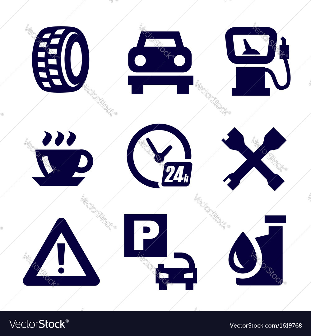 Auto and repair vector | Price: 1 Credit (USD $1)