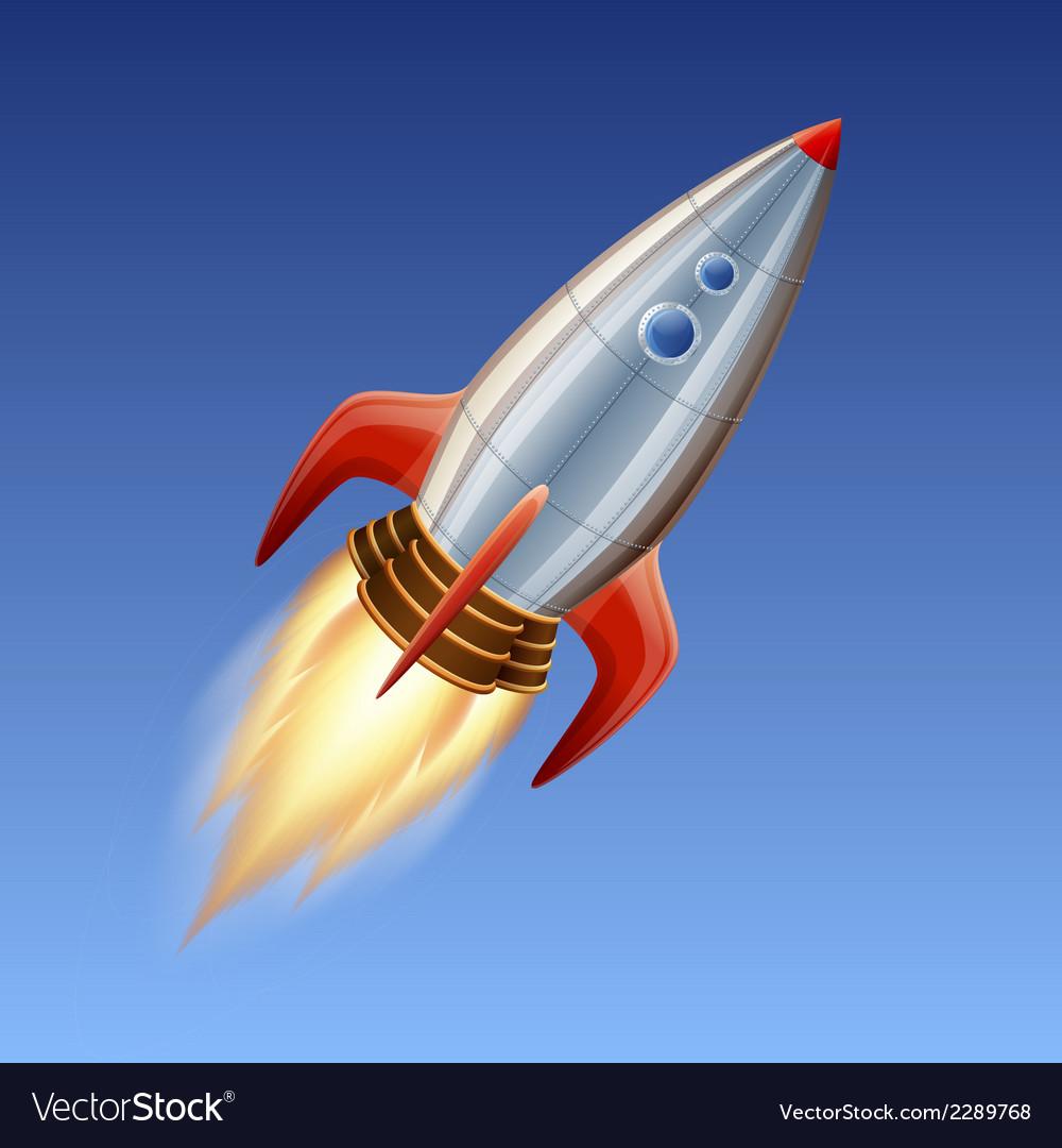 Big rocket vector | Price: 1 Credit (USD $1)