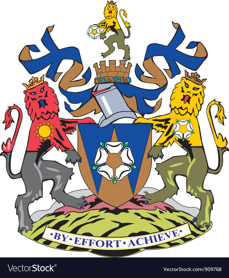 West yorkshire county vector | Price: 1 Credit (USD $1)