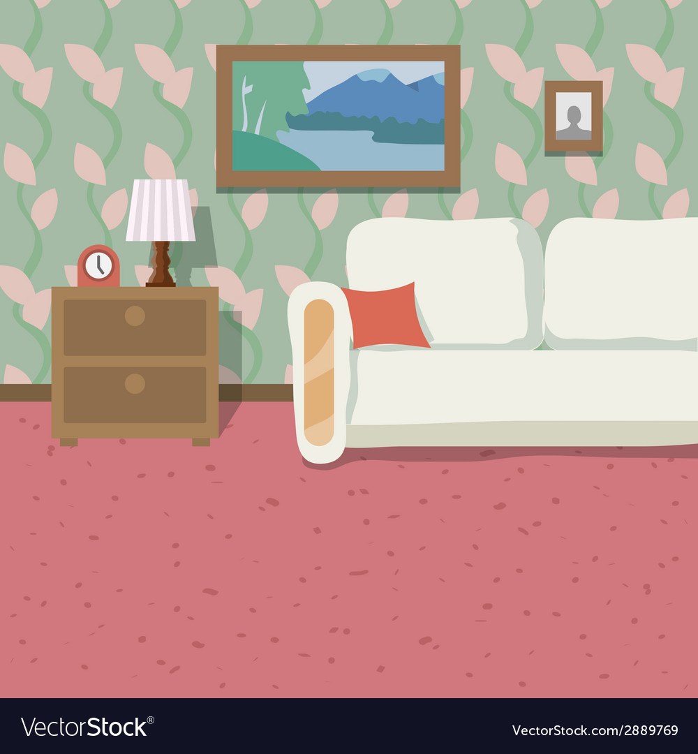 Indoor location background vector | Price: 1 Credit (USD $1)