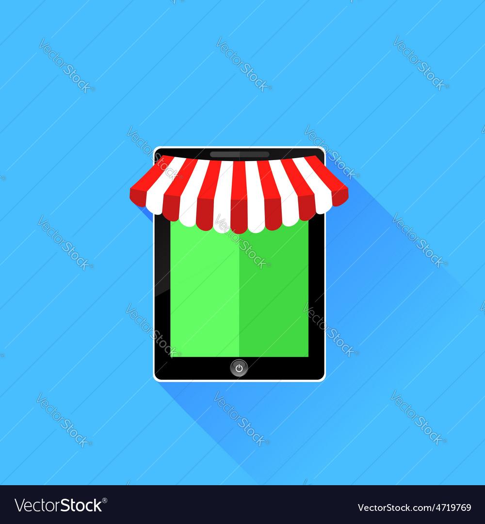 Mobile store icon vector | Price: 1 Credit (USD $1)