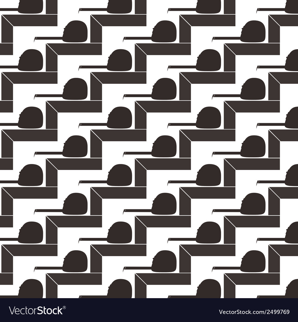 Seamless pattern background of square and tape vector | Price: 1 Credit (USD $1)