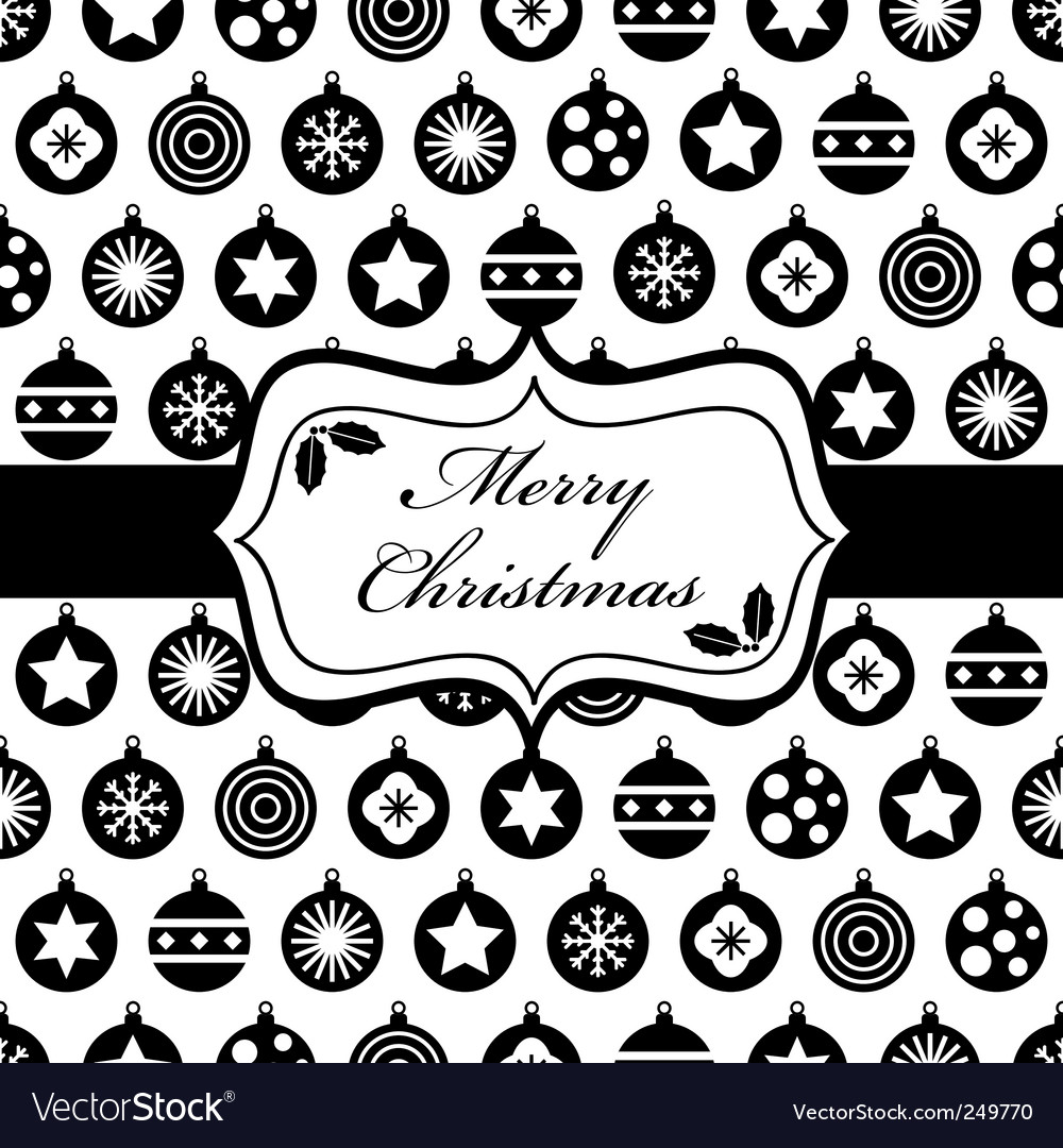 Black and christmas wrapping vector | Price: 1 Credit (USD $1)