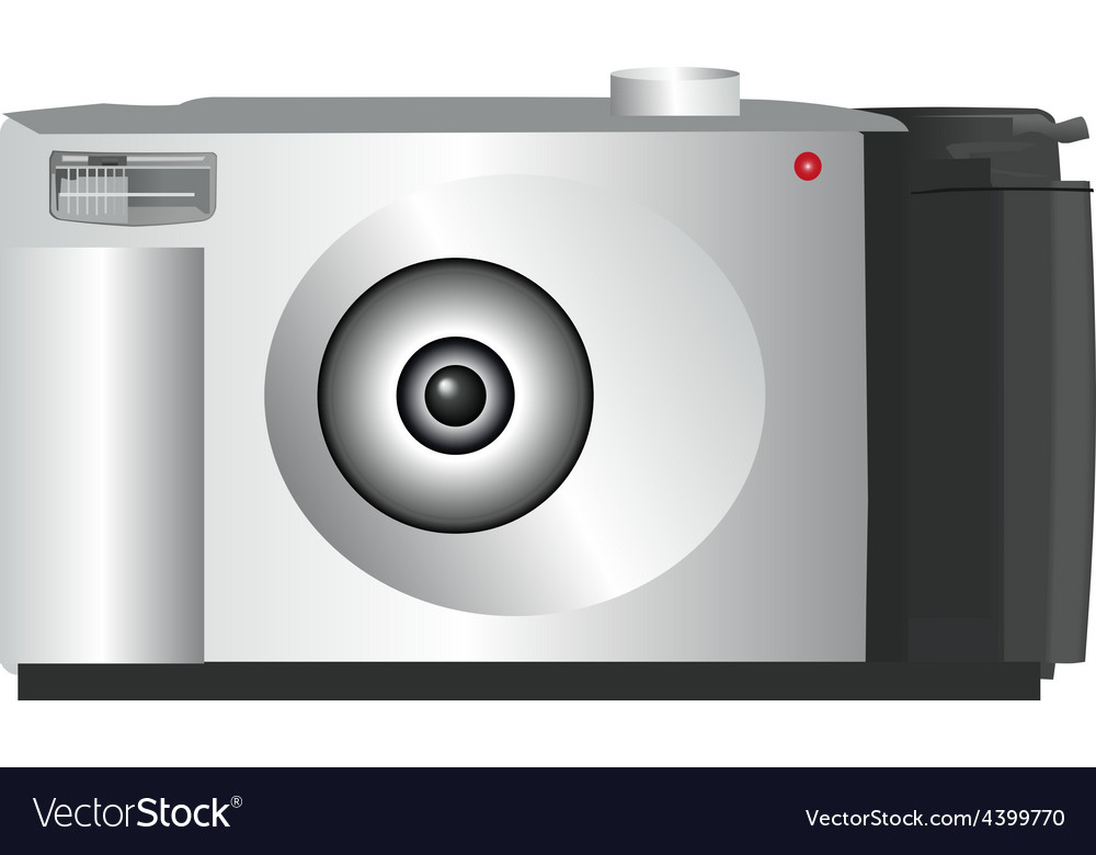 Digital camera vector | Price: 1 Credit (USD $1)