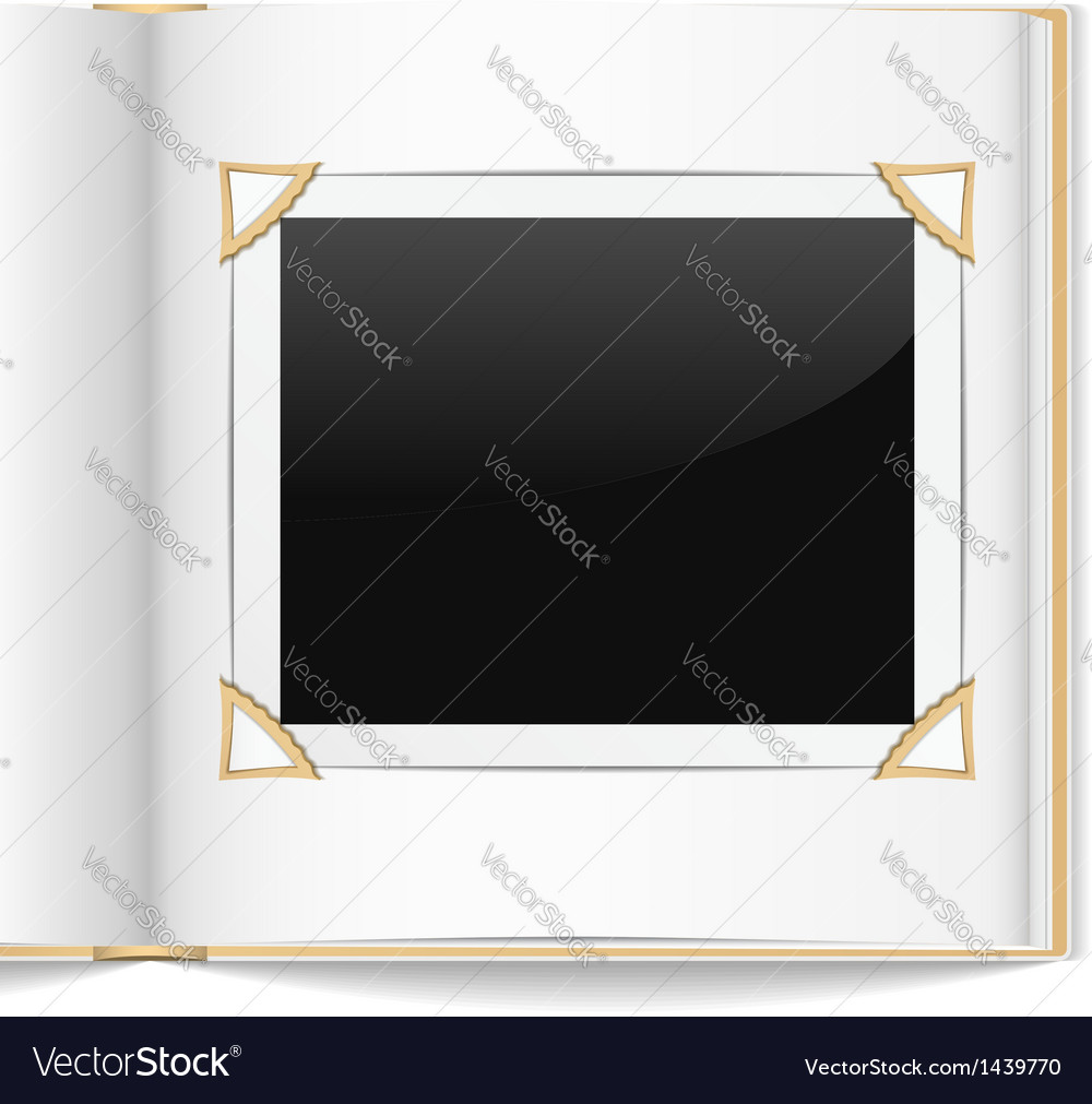 Photo album vector | Price: 1 Credit (USD $1)