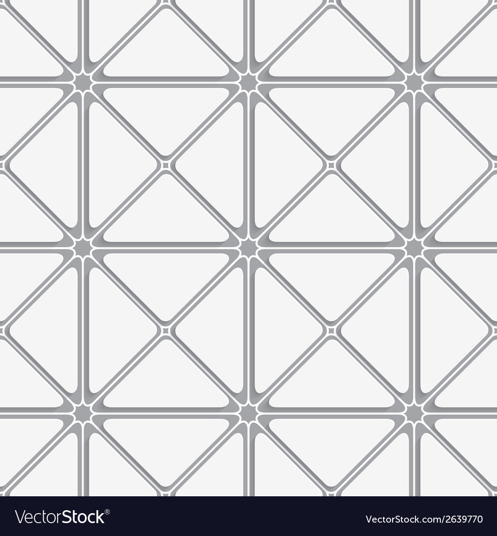 White and gray triangular tile ornament vector | Price: 1 Credit (USD $1)