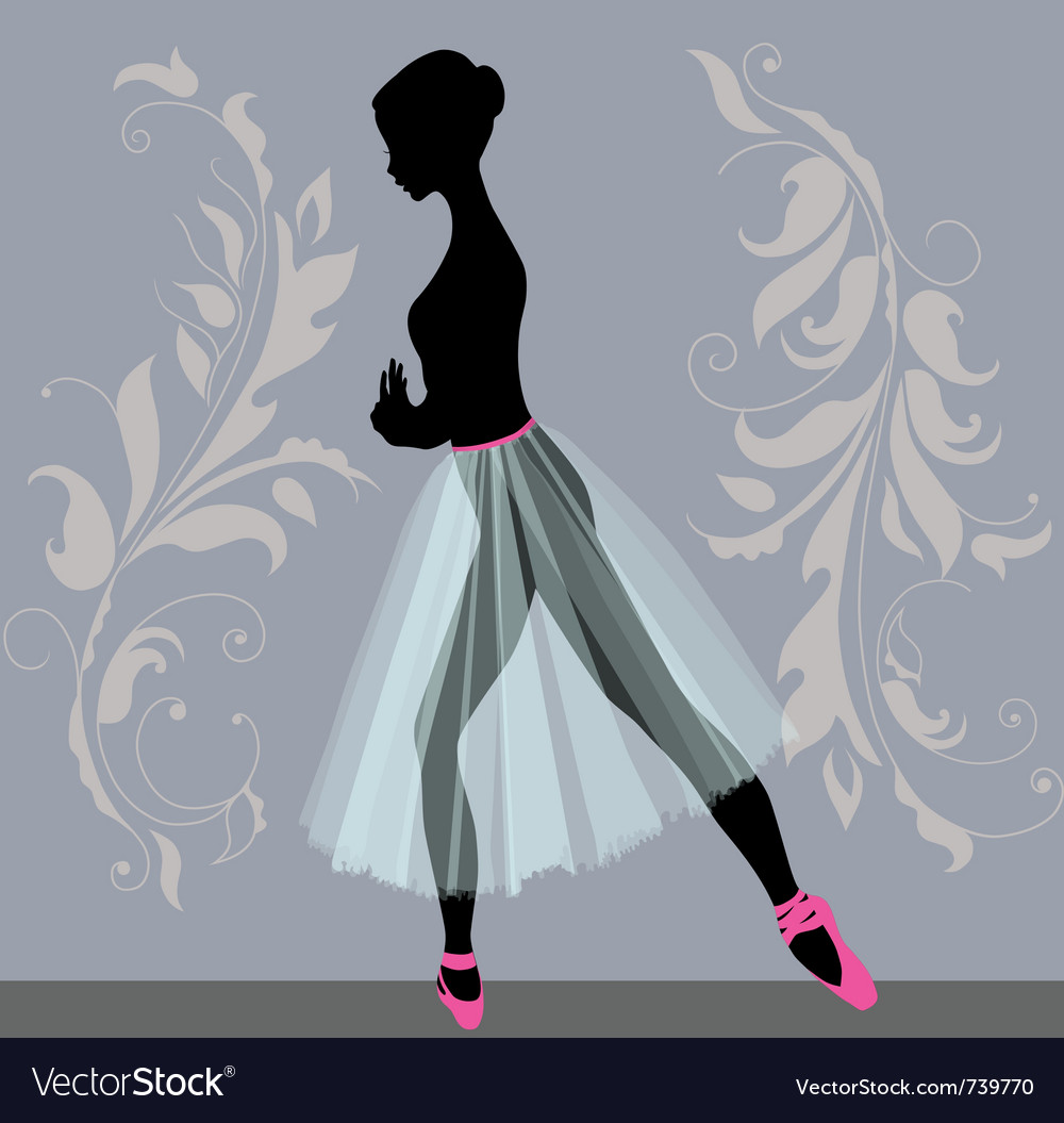 Young ballerina vector | Price: 1 Credit (USD $1)