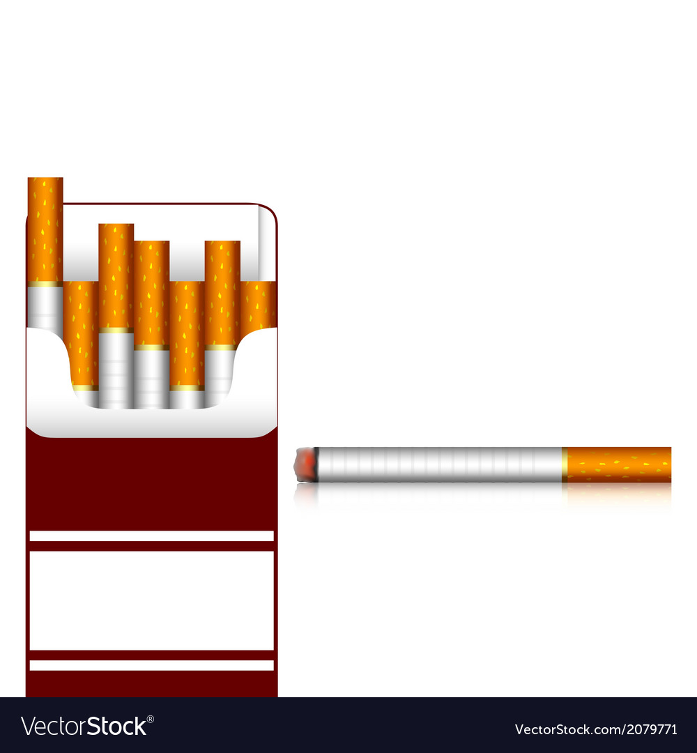 Carton of cigarettes vector | Price: 1 Credit (USD $1)