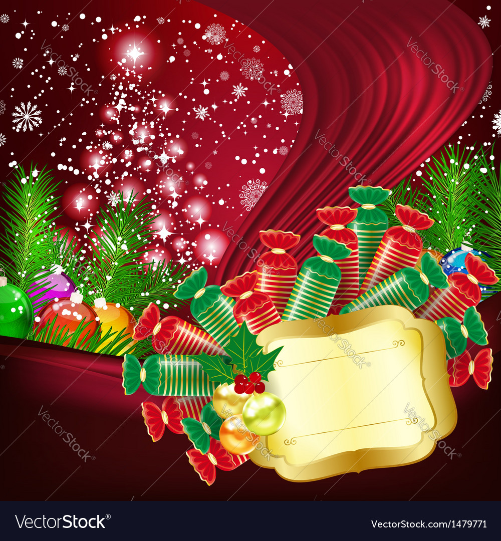 Christmas background vector | Price: 5 Credit (USD $5)