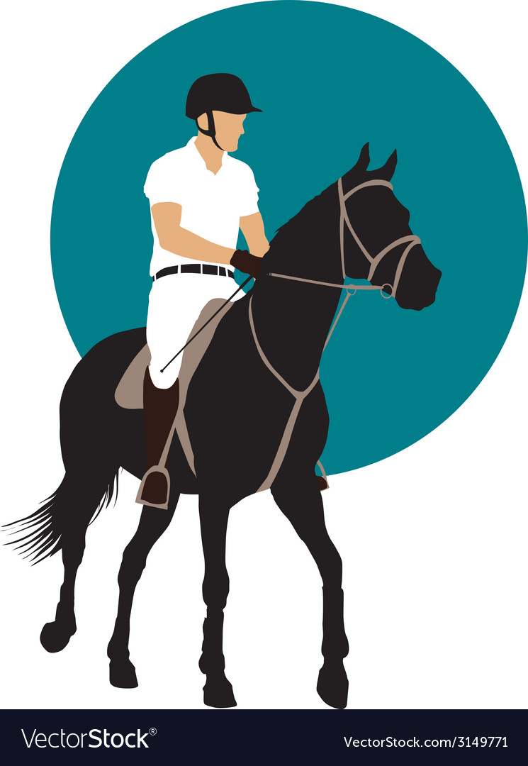 Equestrian sports design vector   Price: 1 Credit (USD $1)