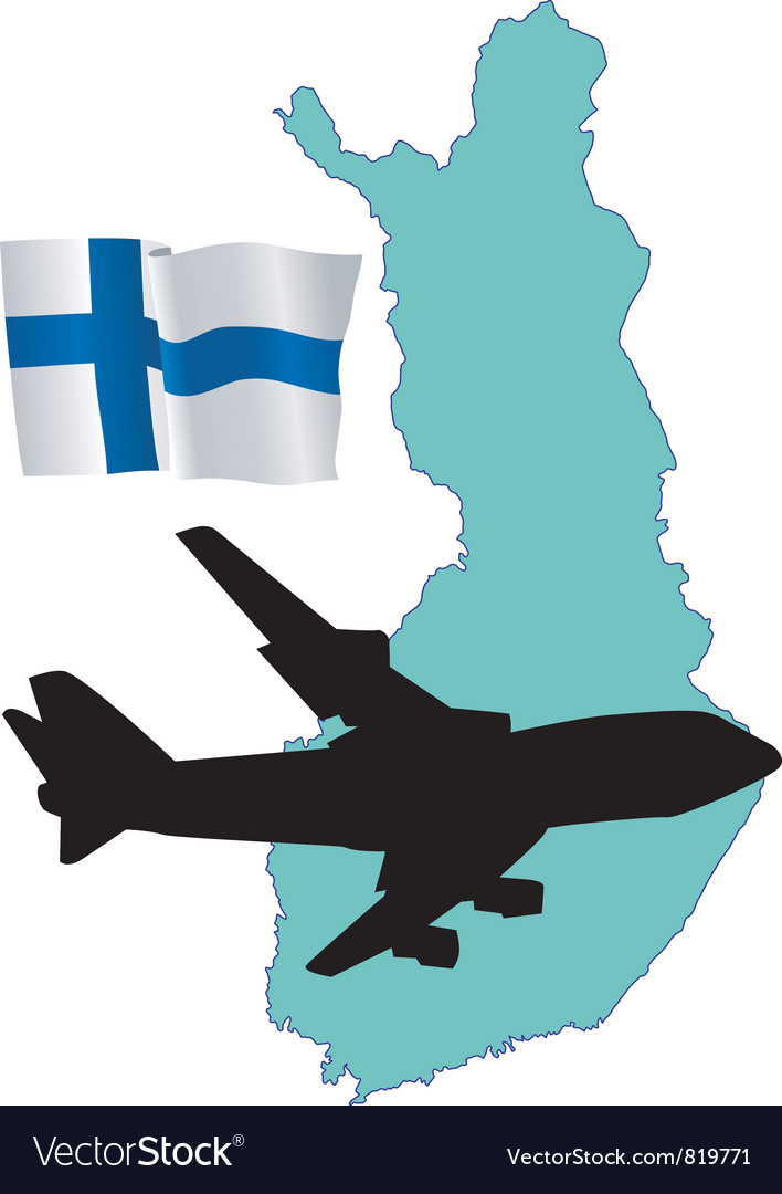 Fly me to the finland vector   Price: 1 Credit (USD $1)