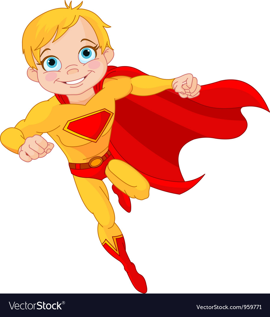 Super boy vector | Price: 3 Credit (USD $3)