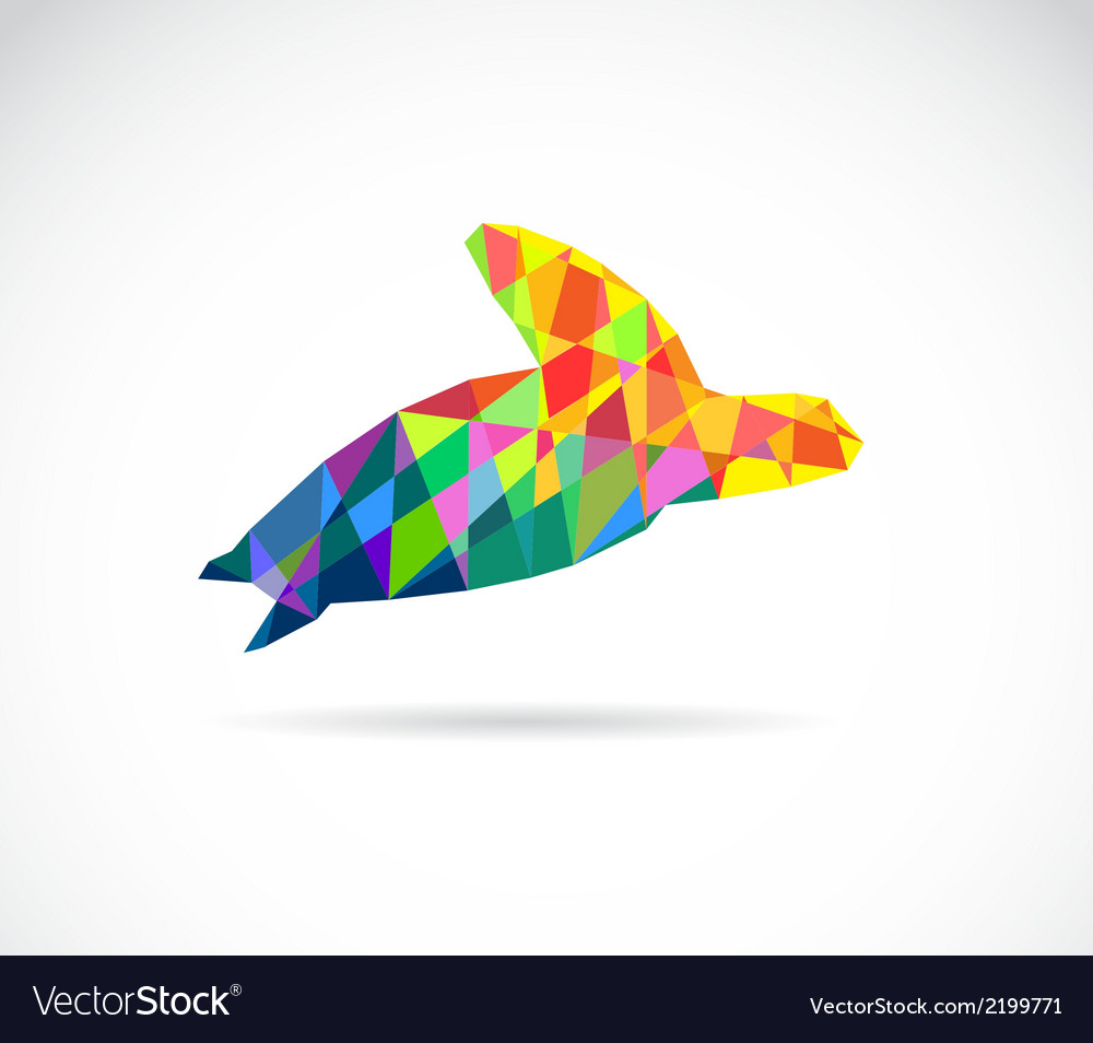 Turtle abstract vector | Price: 1 Credit (USD $1)