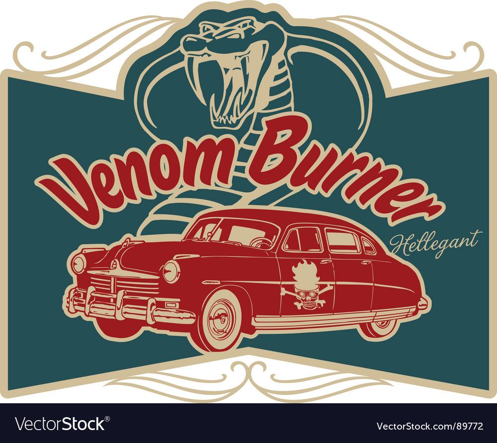 Venom burner vector | Price: 1 Credit (USD $1)