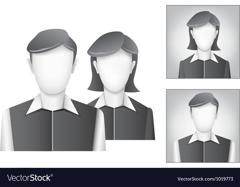 Default avatar vector | Price: 1 Credit (USD $1)