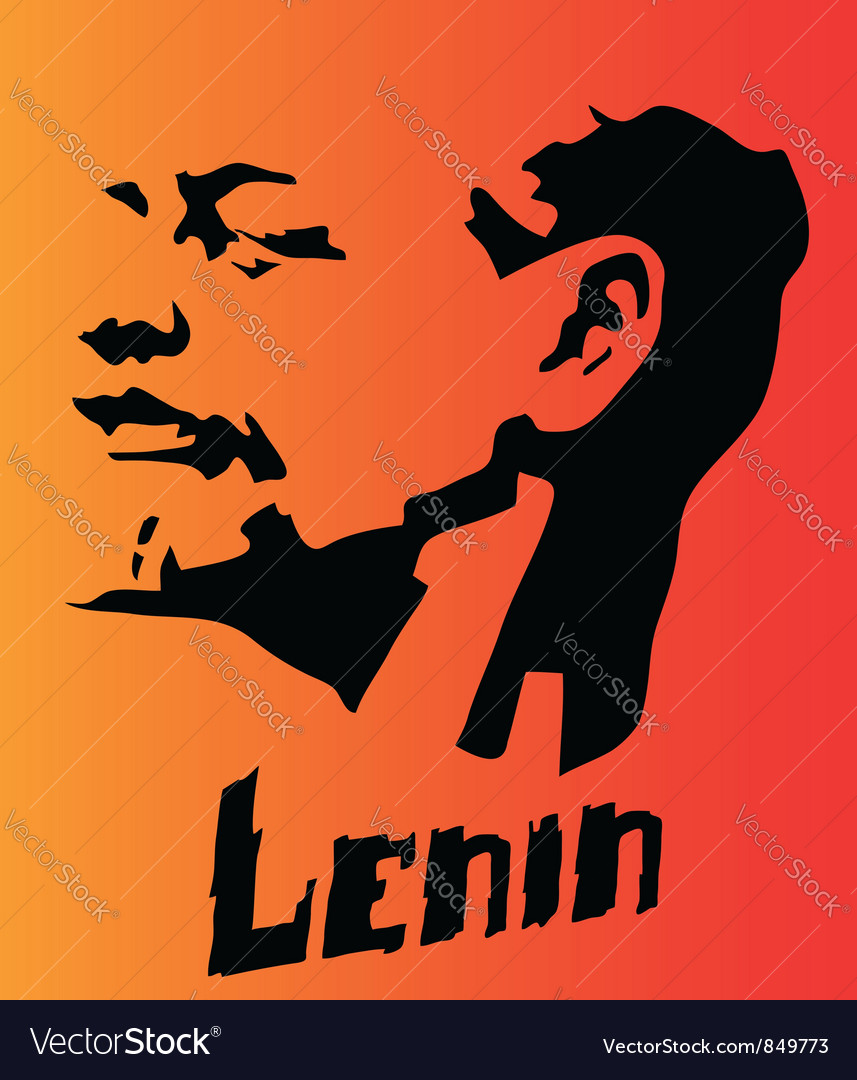 Lenin vector | Price: 1 Credit (USD $1)