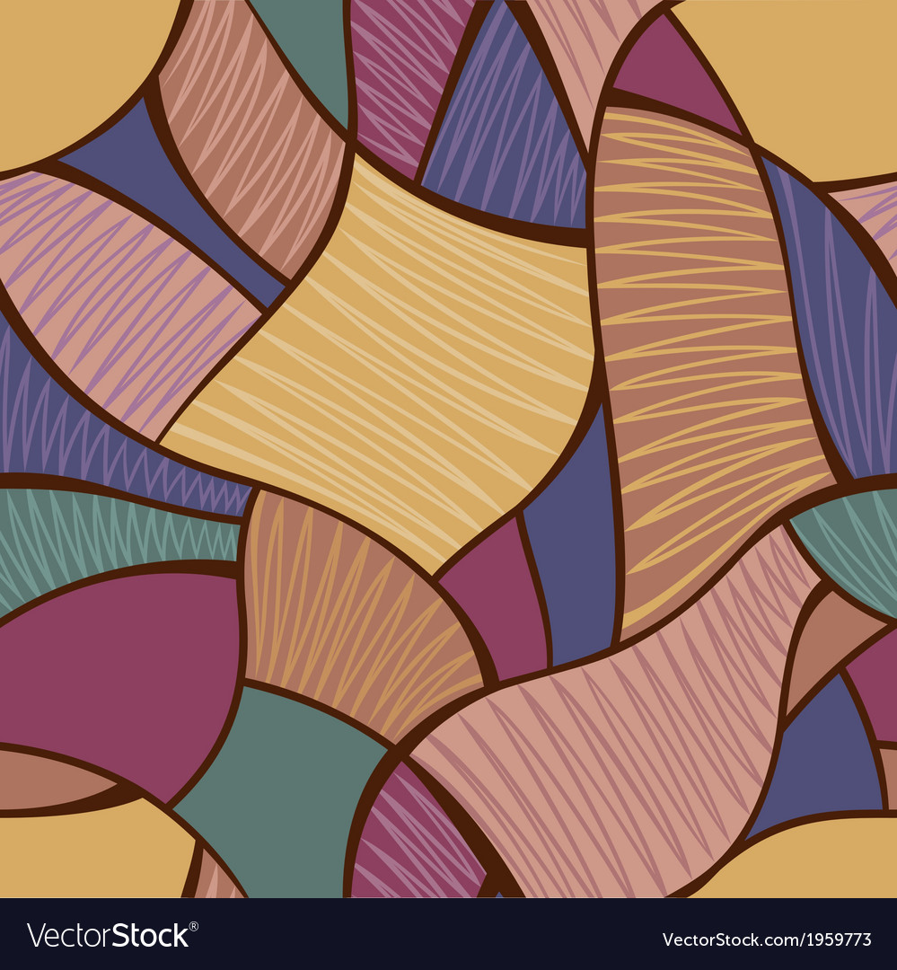 Multicolored abstract seamless background vector | Price: 1 Credit (USD $1)