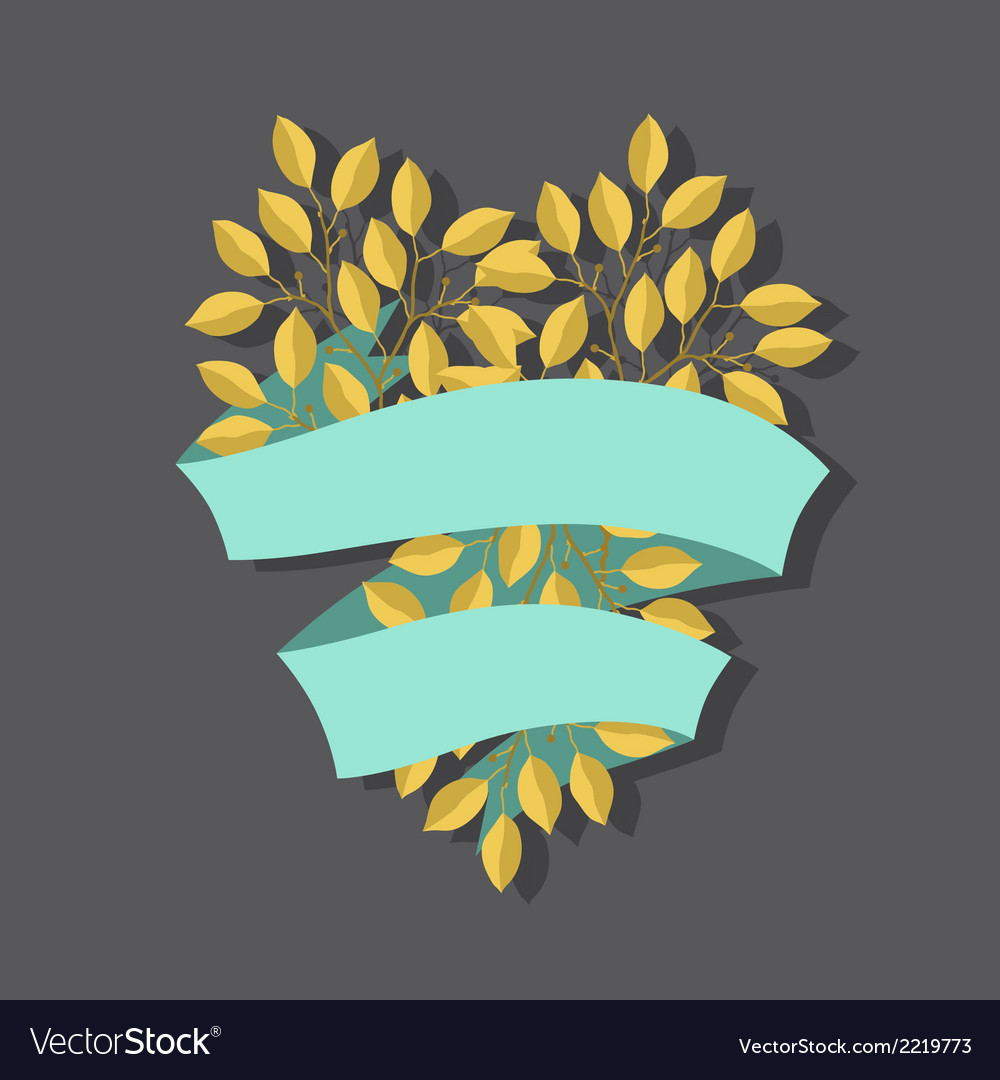 Natural background with branches of leaves and vector | Price: 1 Credit (USD $1)
