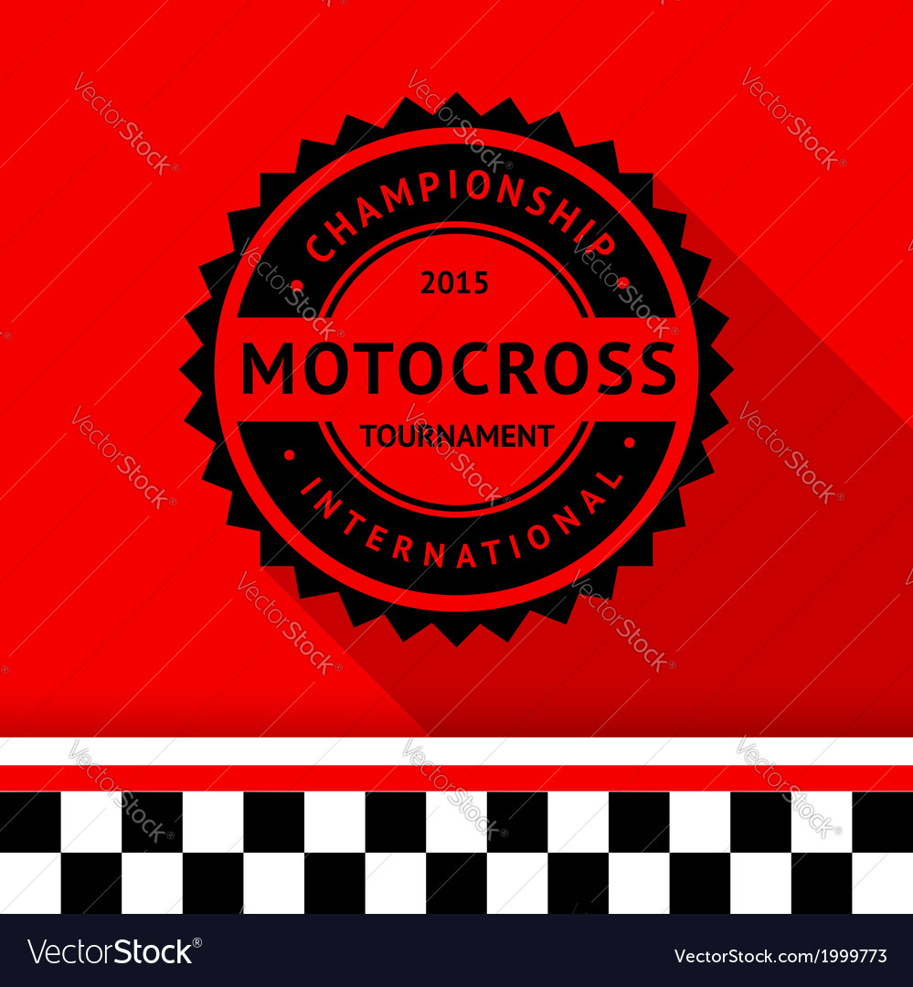Racing stamp-01 vector | Price: 1 Credit (USD $1)