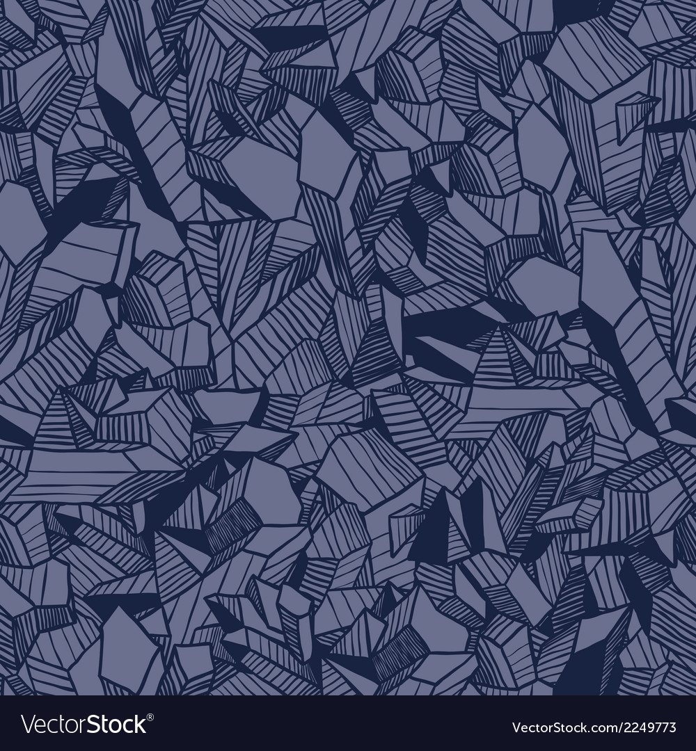 Seamless pattern with crystals vector | Price: 1 Credit (USD $1)