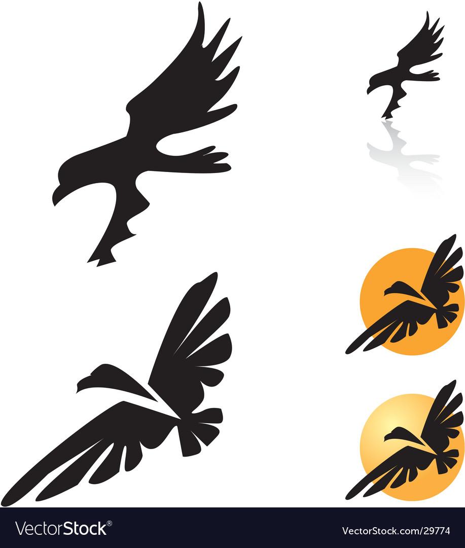 Condor bird vector | Price: 1 Credit (USD $1)
