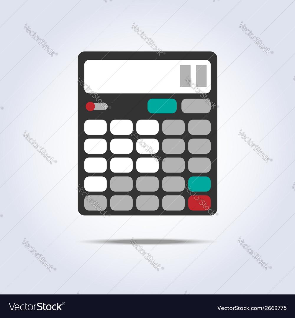 Calculator simple icon vector   Price: 1 Credit (USD $1)