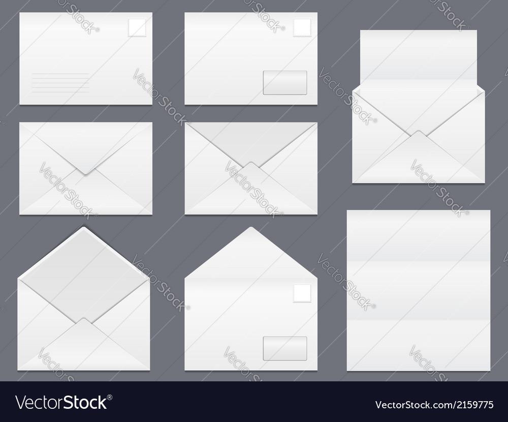 Envelopes vector | Price: 1 Credit (USD $1)