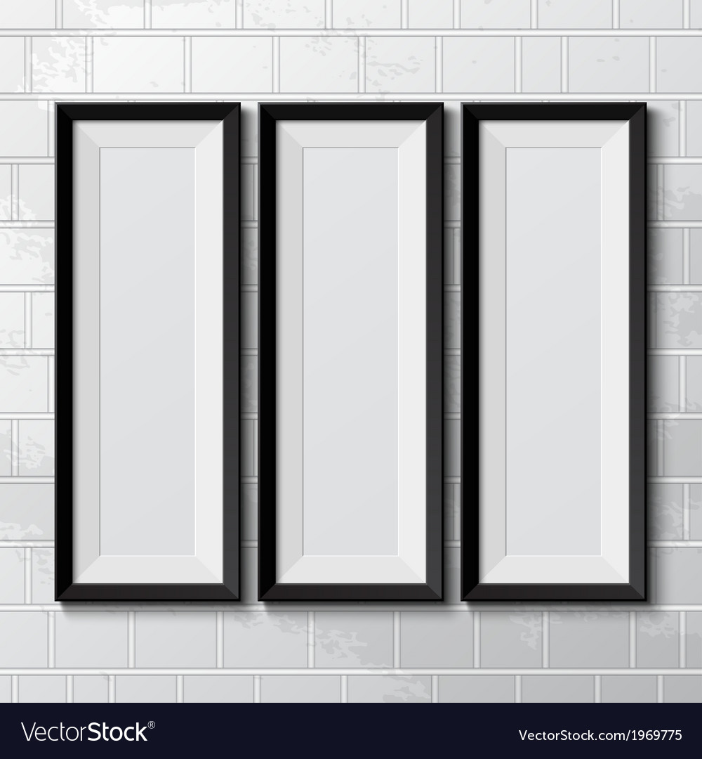 Realistic picture frames vector   Price: 1 Credit (USD $1)