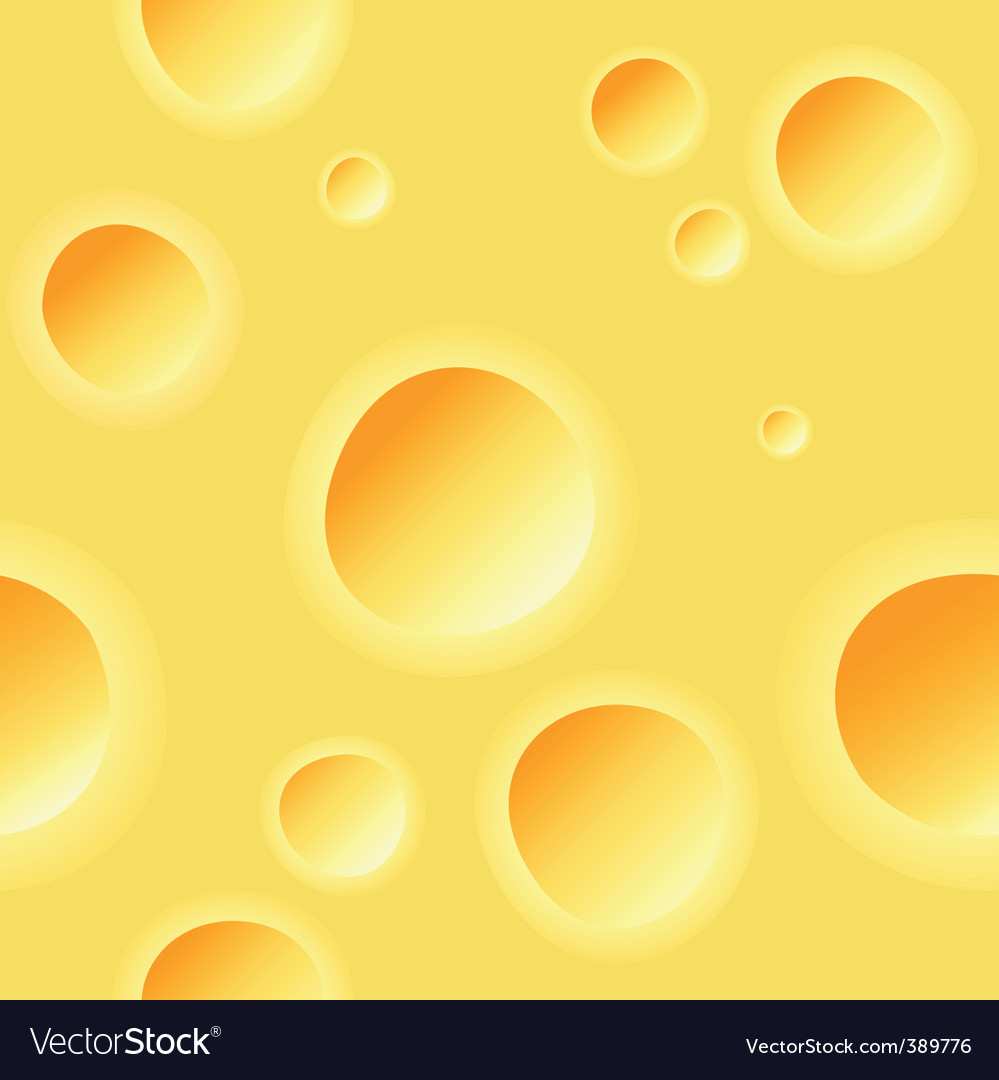 Cheese pattern vector | Price: 1 Credit (USD $1)