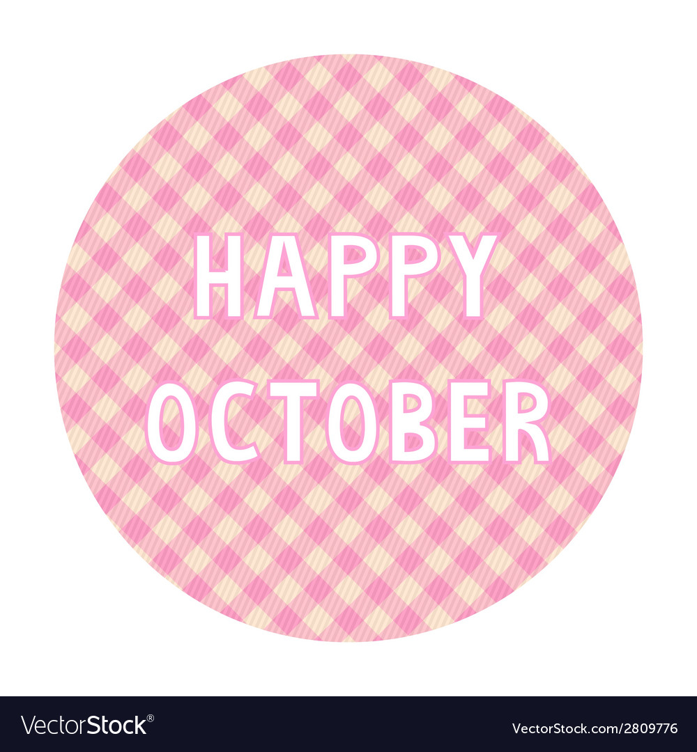 Happy october background4 vector | Price: 1 Credit (USD $1)