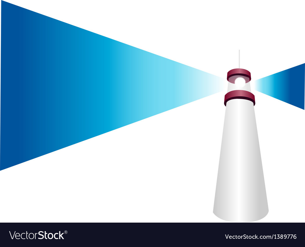 Icon lighthouse vector   Price: 1 Credit (USD $1)
