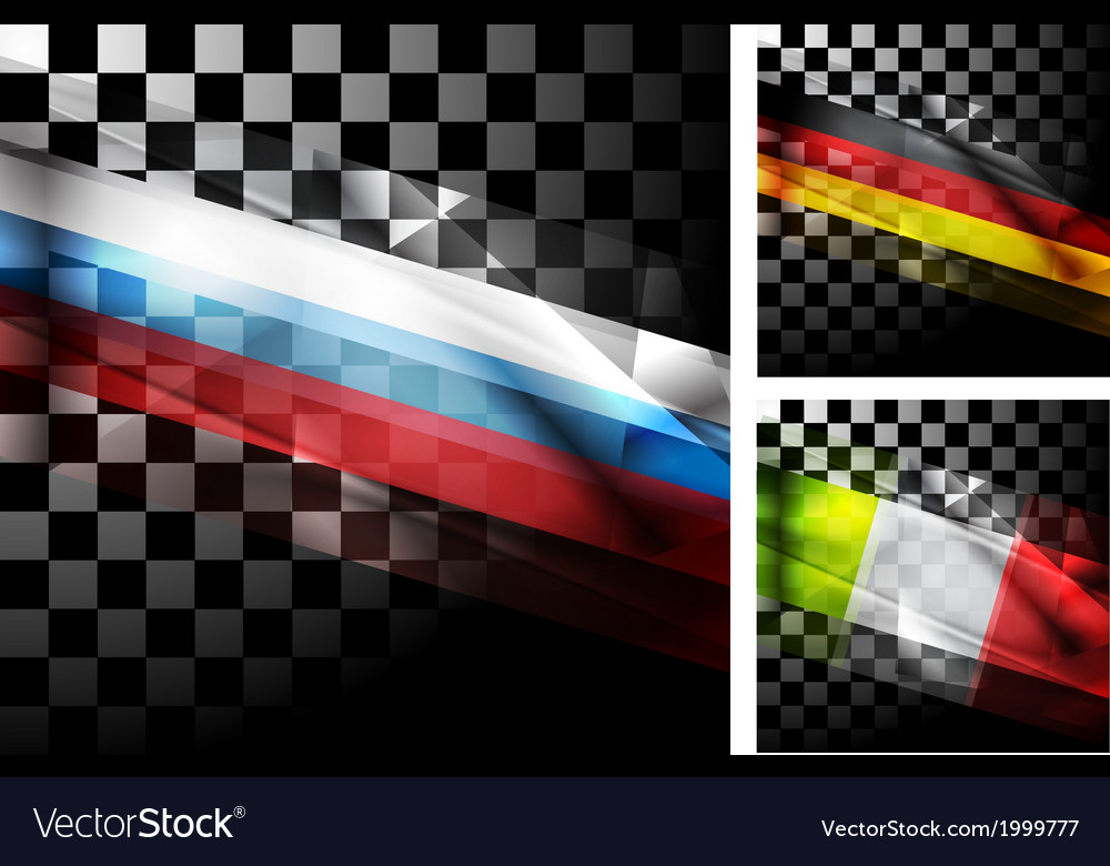 Concept design of flags vector | Price: 1 Credit (USD $1)