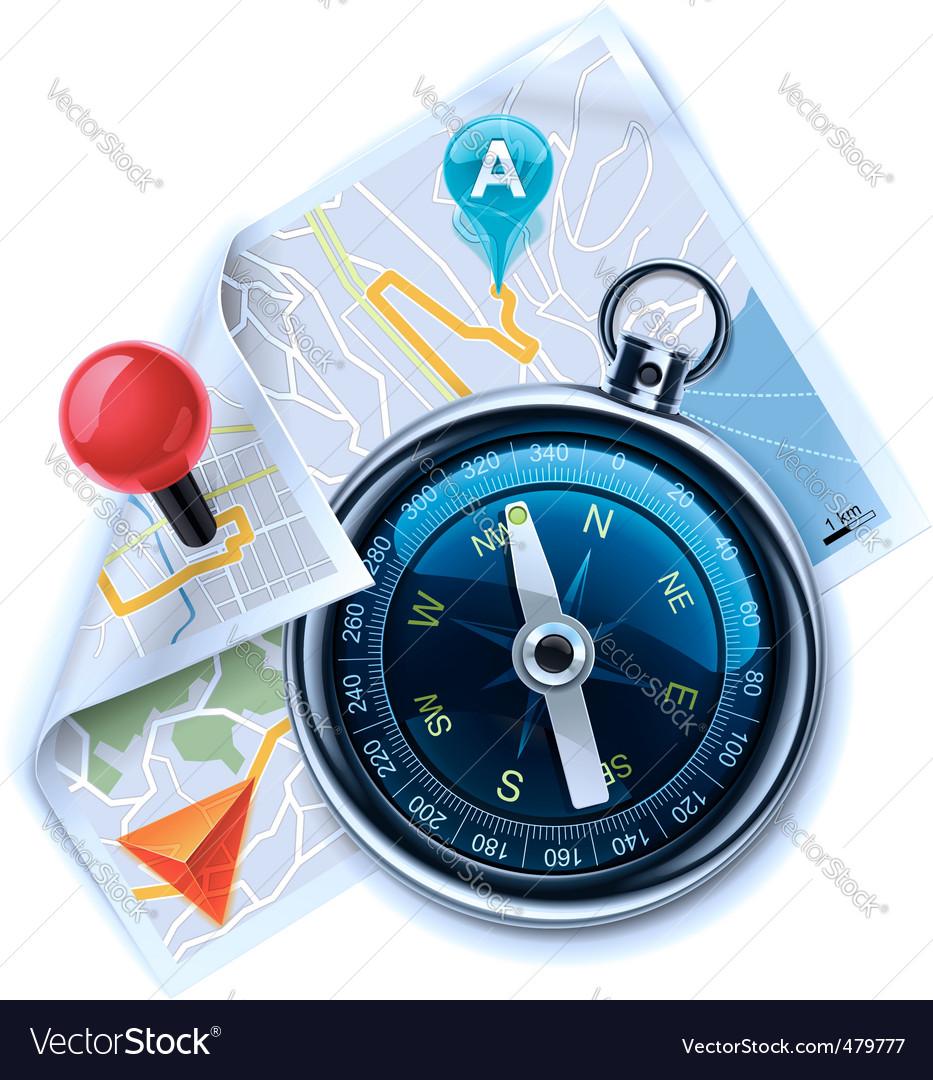 Gps navigation vector | Price: 3 Credit (USD $3)