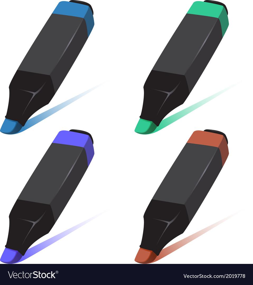 Marker vector | Price: 1 Credit (USD $1)