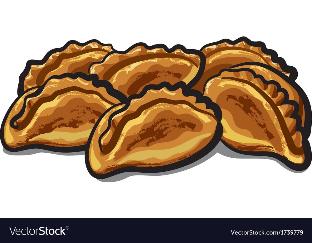 Fresh pastries vector | Price: 1 Credit (USD $1)