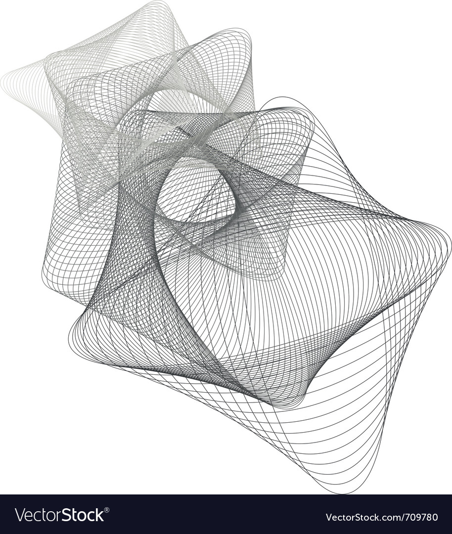 Abstract lined art vector | Price: 1 Credit (USD $1)
