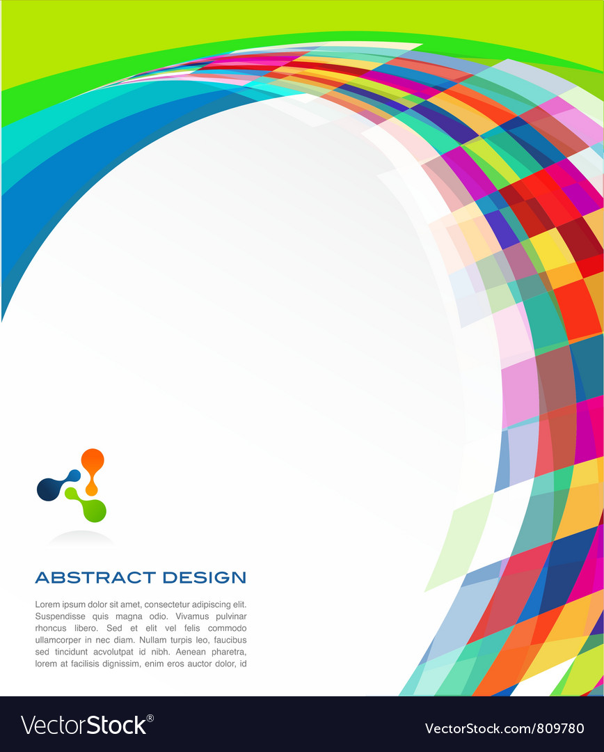 Colorful abstract banner vector | Price: 1 Credit (USD $1)